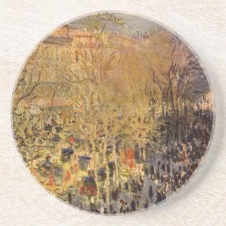 Dessous De Verre En Grès DES Capucines par Claude Monet, beaux-arts de