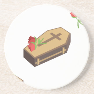Dessous De Verre En Grès emojis de cercueil
