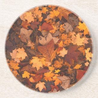 Dessous De Verre En Grès Feuillage d'automne