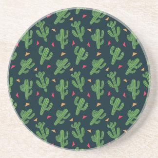 Dessous De Verre En Grès Fiesta de cactus