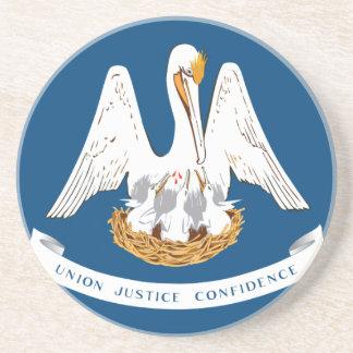 Dessous De Verre En Grès Flag_of_Louisiana