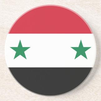 Dessous De Verre En Grès Flag_of_Syria.