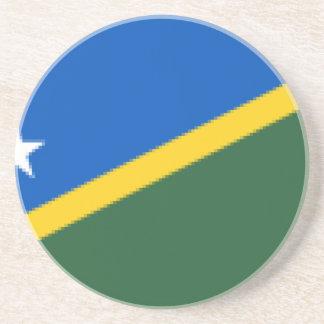 Dessous De Verre En Grès Flag_of_the_Solomon_Islands