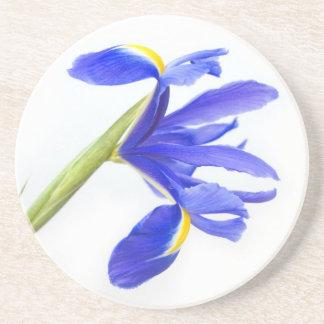 Dessous De Verre En Grès Fleur pourpre d'iris