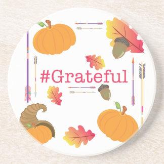 Dessous De Verre En Grès #Grateful