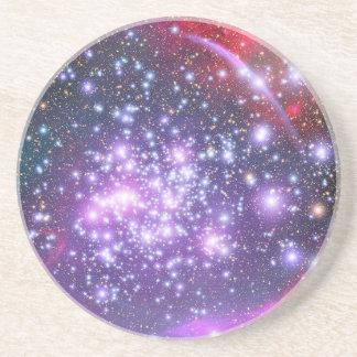 Dessous De Verre En Grès Groupe d'étoile de voûtes dans le Sagittaire