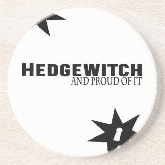 Dessous De Verre En Grès Hedgewitch et fier de lui
