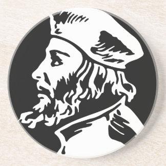 Dessous De Verre En Grès Jan Hus