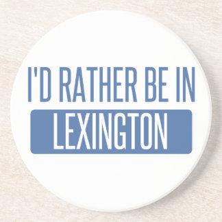 Dessous De Verre En Grès Je serais plutôt à Lexington