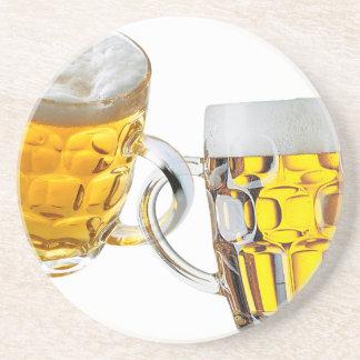 Dessous De Verre En Grès La bière est ma drogue