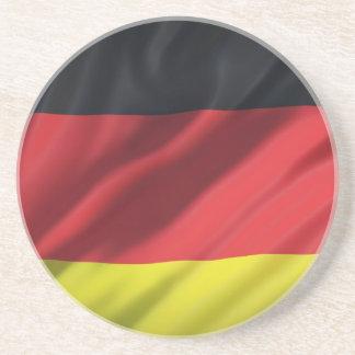Dessous De Verre En Grès la drapeau-Allemagne