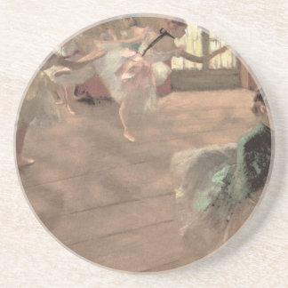 Dessous De Verre En Grès La répétition par Edgar Degas, art vintage de