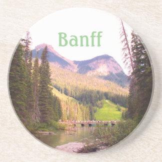 Dessous De Verre En Grès Lac vert, Banff, Canada