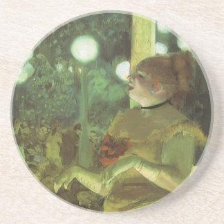 Dessous De Verre En Grès Le concert de café par Edgar Degas, beaux-arts