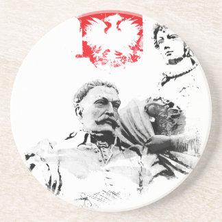 Dessous De Verre En Grès Le Roi polonais janv. III Sobieski et Marysienka