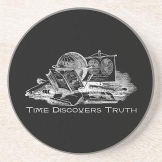 Dessous De Verre En Grès Le temps découvre la vérité