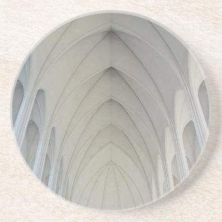 Dessous De Verre En Grès L'église paroissiale et les points de repère de