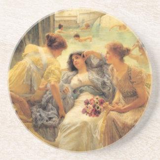 Dessous De Verre En Grès Les bains de Caracalla en détail