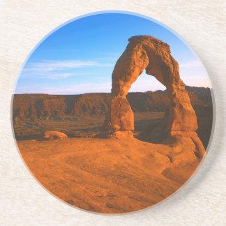Dessous De Verre En Grès Les Etats-Unis, Utah, arquent le parc national,