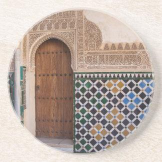 Dessous De Verre En Grès L'Europe, Espagne, Andalousie, Grenade, Alhambra