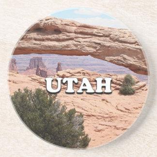 Dessous De Verre En Grès L'Utah : Voûte de MESA, parc national de