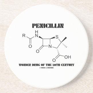 Dessous De Verre En Grès Merveille de pénicilline de la chimie du 20ème