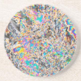 Dessous De Verre En Grès Micrographe d'albâtre