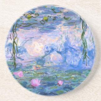 Dessous De Verre En Grès Nénuphars de Monet