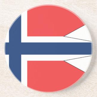 Dessous De Verre En Grès Norvège-Drapeau #2