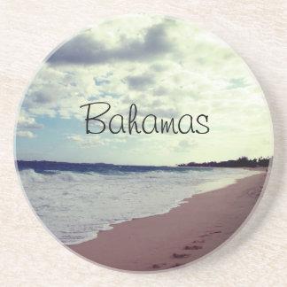 Dessous De Verre En Grès Plage des Bahamas