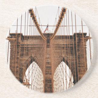 Dessous De Verre En Grès Pont de Brooklyn
