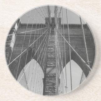 Dessous De Verre En Grès Pont de Brooklyn New York City