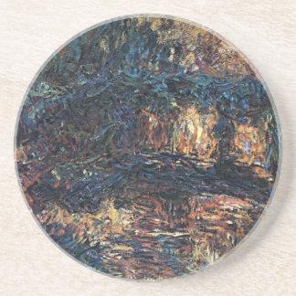 Dessous De Verre En Grès Pont japonais par Claude Monet, beaux-arts
