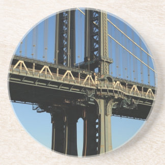 Dessous De Verre En Grès Pont New York Manhattan Brooklyn