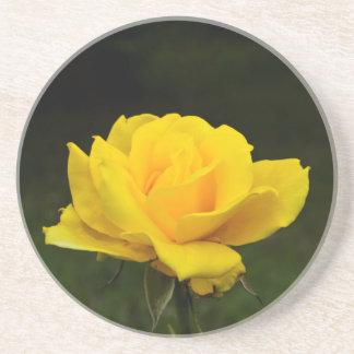 Dessous De Verre En Grès Rose jaune