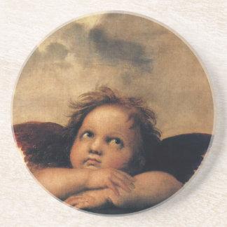 Dessous De Verre En Grès Sistine Madonna, détail d'anges par Raphael