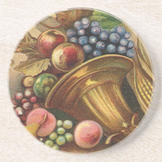Dessous De Verre En Grès Toute la générosité de thanksgiving soit Thine