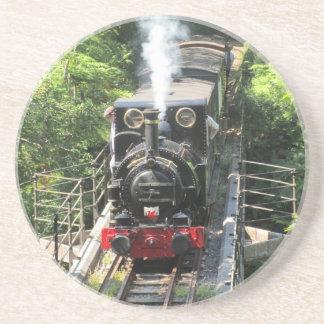 Dessous De Verre En Grès Train de vapeur de Gallois