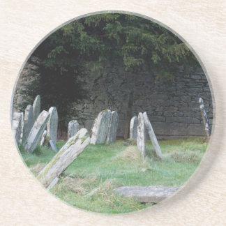 Dessous De Verre En Grès Un yard grave irlandais
