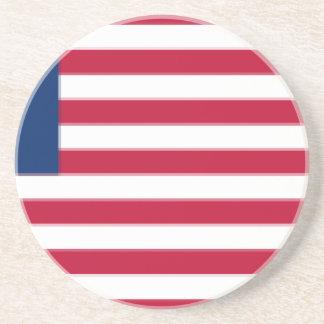 Dessous De Verre En Grès US_flag_13_stars_-_Betsy_Ross