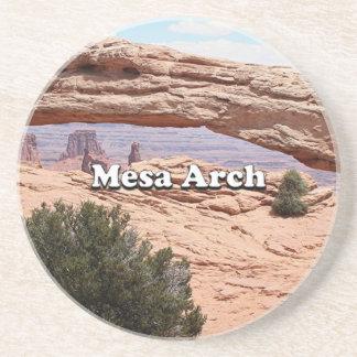 Dessous De Verre En Grès Voûte de MESA : Parc national de Canyonlands, Utah