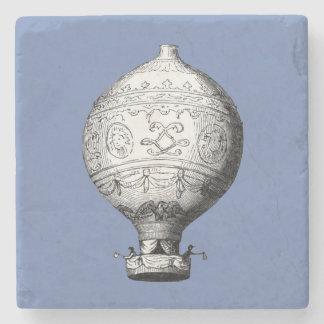 Dessous-de-verre En Pierre Ballon à air chaud vintage de Montgolfier