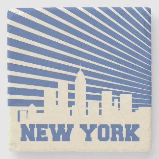 Dessous-de-verre En Pierre Bleu de New York City