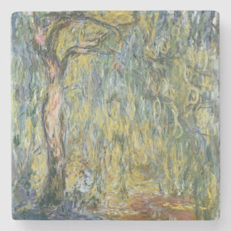 Dessous-de-verre En Pierre Claude Monet | le grand saule chez Giverny, 1918