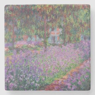 Dessous-de-verre En Pierre Claude Monet   le jardin de l'artiste chez Giverny