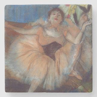 Dessous-de-verre En Pierre Danseur assis par | d'Edgar Degas, 1879-80