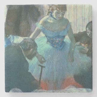 Dessous-de-verre En Pierre Danseur d'Edgar Degas | dans son vestiaire