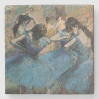 Dessous-de-verre En Pierre Danseurs d'Edgar Degas | dans le bleu, 1890
