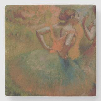 Dessous-de-verre En Pierre Danseurs d'Edgar Degas | utilisant des jupes de