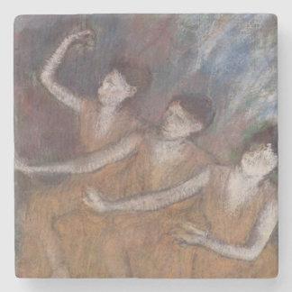 Dessous-de-verre En Pierre Danseuses d'Edgar Degas | Trois